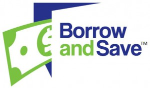 Borrow and Save logo TM