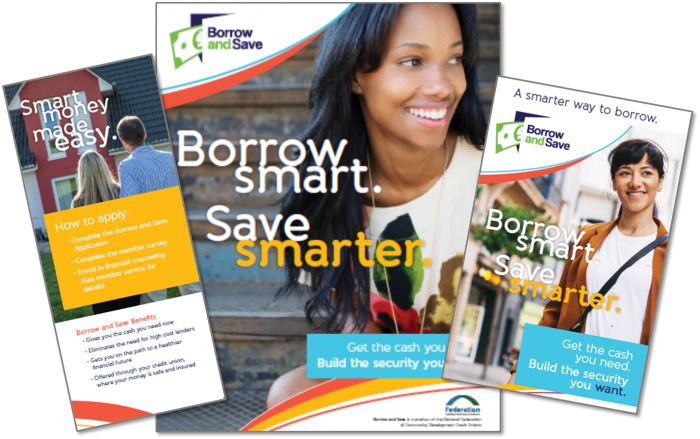 Borrow and Save materials