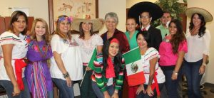 Border FCU staff celebrating Cinco de Mayo.