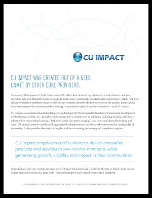 CU Impact Brochure Cover